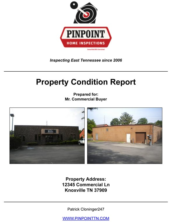 Sample Commercial Inspections