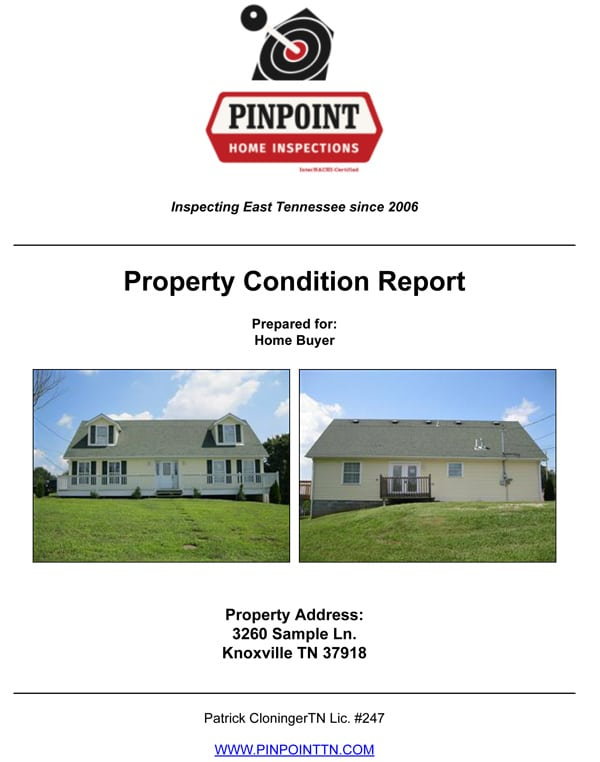 Sample Residential Inspections